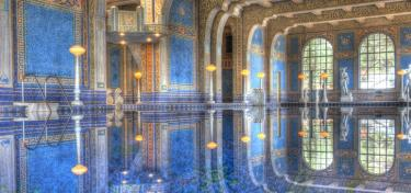 Piscine d'exception au Hearst Castle